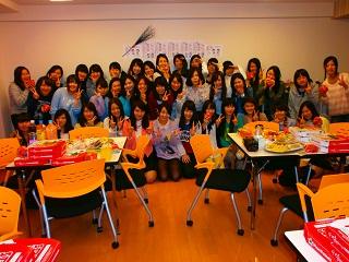 JHS学生会館(妙典) 新入寮生歓迎会の様子