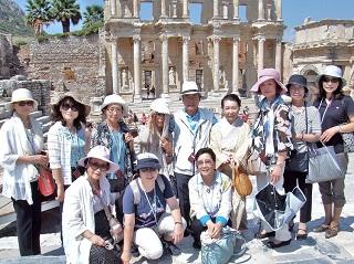 エフェス観光の様子