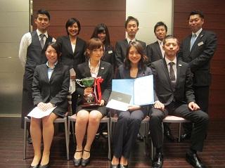 第9回HRSサービスコンクール2015への出場が決まった出場者