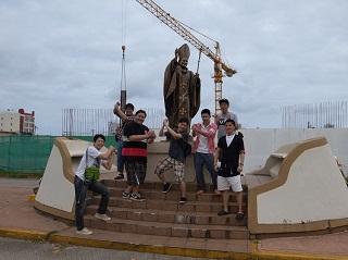 グアム半日観光 歴史の一部に触れました