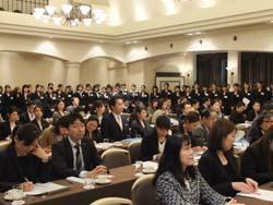 「ブライダルゼミ発表会」の総勢56名の出席者