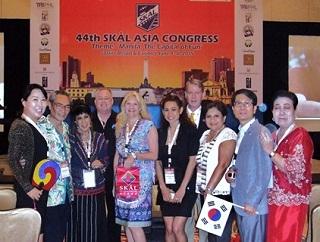 3. 韓国、インドネシア、香港、フィリピン、スリランカからの役員参加者