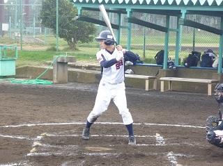 投打で活躍したキャプテン川村涼太さん