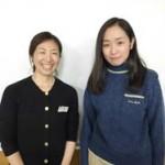 上野先生と高橋花歩さん