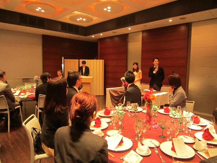レストランマネジメント課題発表会の様子