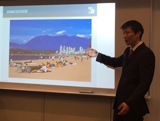 1. Hiroshi Yasuokaさんよりバンクーバー事情を説明