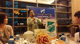 Ms. Patria Chiong による講演の様子