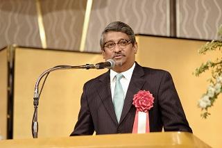 モルディブ共和国駐日大使アハメド カリール閣下より祝辞<br>「