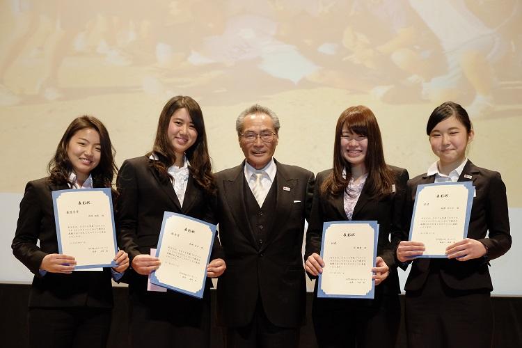 入学オリエンテーション 「スマイルフォトコンテスト」受賞者