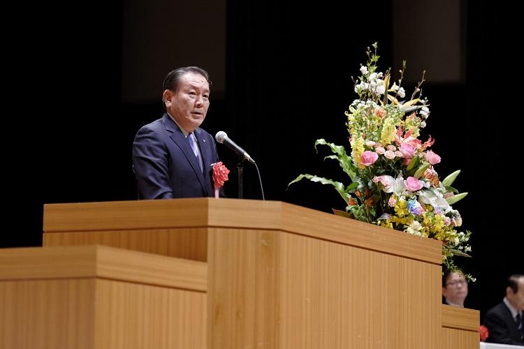 ご来賓祝辞 富士屋ホテル株式会社 代表取締役社長 勝俣様