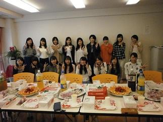 JHS学生会館(浦安) 歓迎会の様子