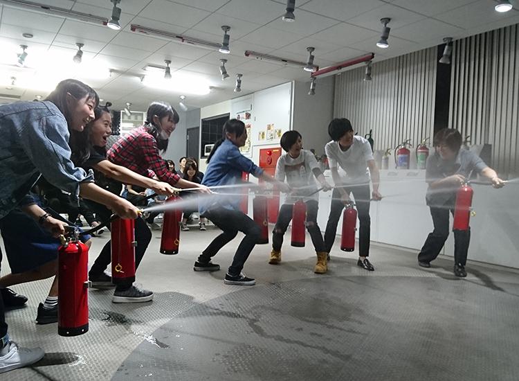 1.初期消火の訓練