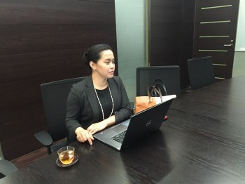 MÖVENPICK Hotels & Resorts営業部長Mary Tolentino氏
