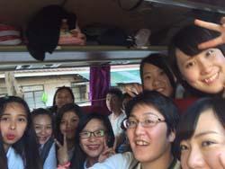 寺口さんとUPHの学生たち
