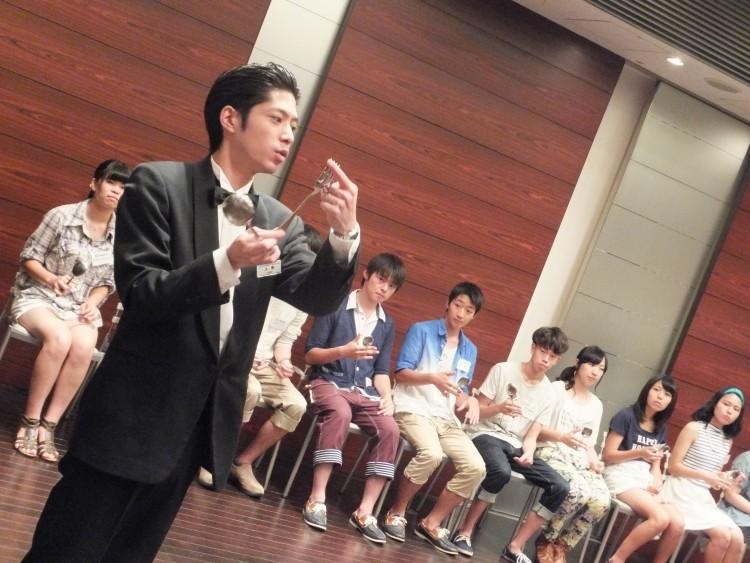 【1・2日目】体験授業を通し、学校のことをよく知る!