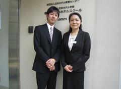 新谷 健介さん(左)