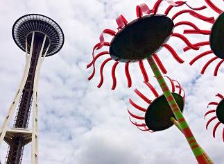 アメリカ・シアトルの観光地 スペースニードル