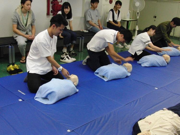 心肺蘇生法の講習
