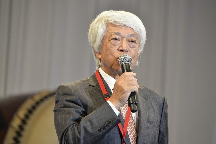 祝辞 堤 猶二氏(株式会社横浜グランドインターコンチネンタルホテル取締役会長)