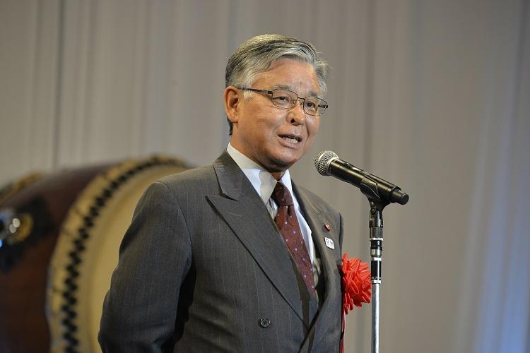 祝辞 松山 良一氏(日本政府観光局理事長)