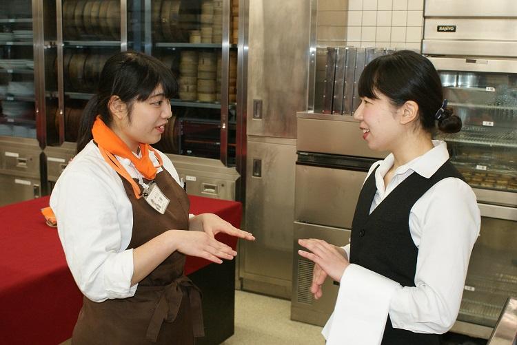 新宿調理師専門学校の学生と交流