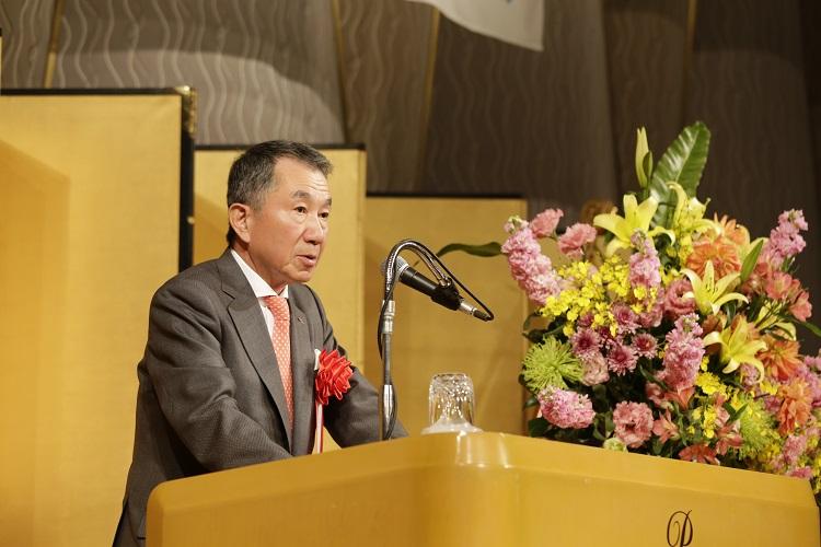 祝辞 一般社団法人日本ホテル協会会長 小林哲也様