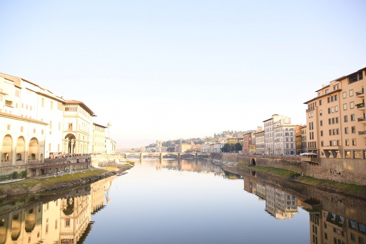 心奪われるイタリアの街の景観