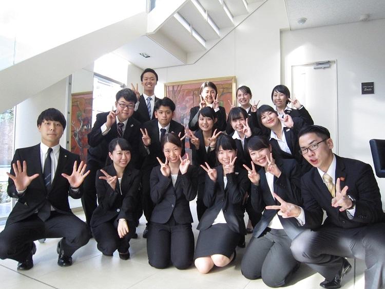 在校生とフリートーク☆ 同じ目線でトークできる!