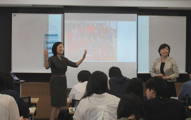 吉浦先生、Ai Lin先生によるプレゼンテーション