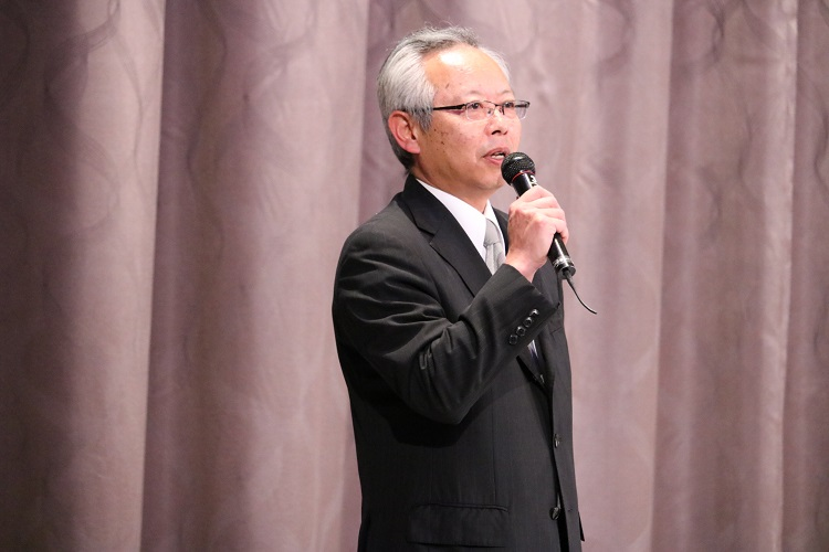 ホテルマウント富士 支配人 志村浩一様より学生に対してメッセージ