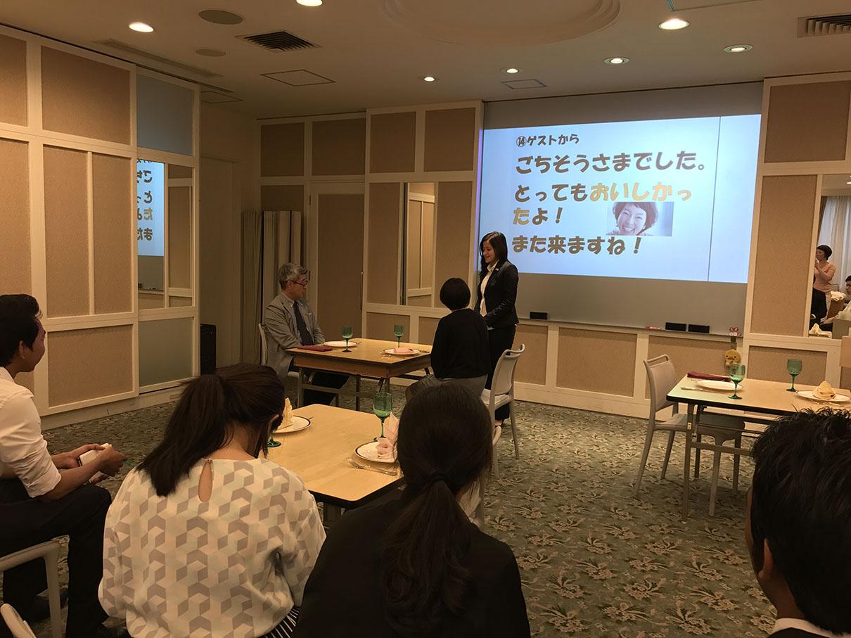 企業実習へ向け、留学生特別講義