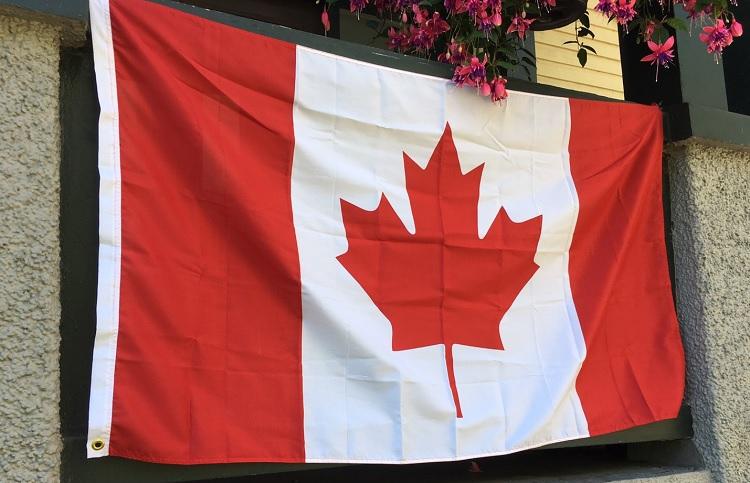 皆さんもご存知の「カナダ」国旗