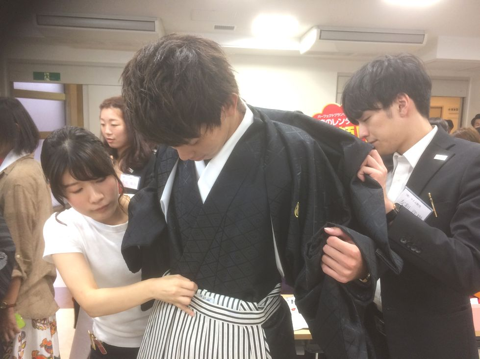男子用の袴もあります