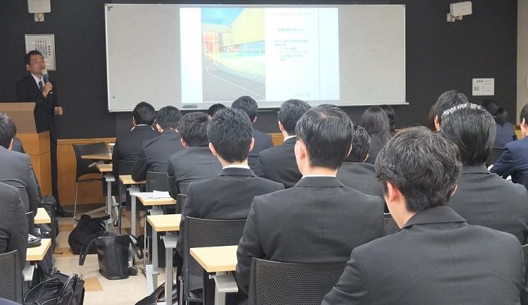 ホテル業界講話/グランド ハイアット 東京・人材開発部部長による講話