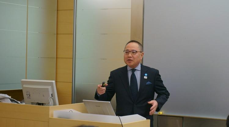玉井講師の講義