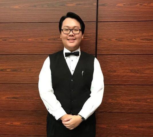 7月12日から9月5日まで実習をしていた、英語専攻科の浅利 興平さん