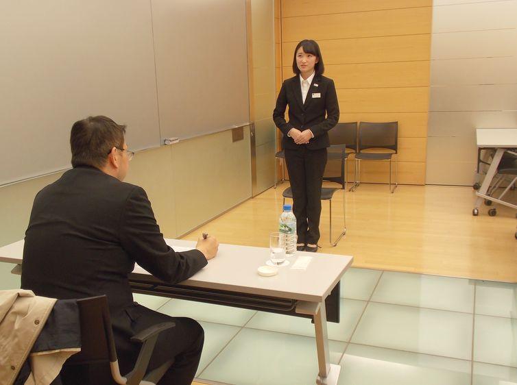 株式会社リビエラ 総務部 次長代理 兼 人事課課長 横田様による面接時のポイントの指導