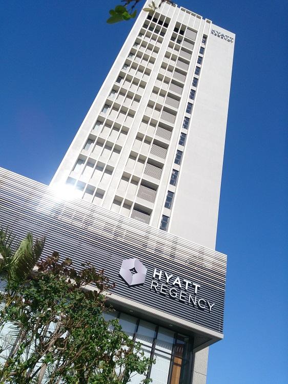 沖縄初のハイアットブランドホテル。2015年7月開業。