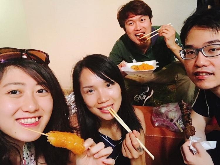YSCメンバーと会食