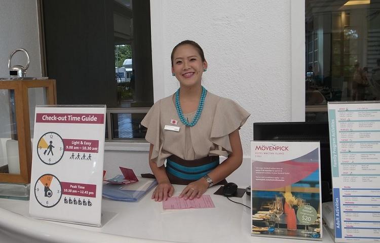 モーベンピック ホテル マクタン アイランド セブ勤務 寺尾美和子さん