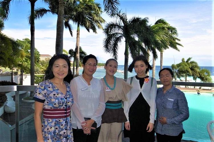 卒業後に海外のホテルで活躍!フィリピン各地で活躍する卒業生
