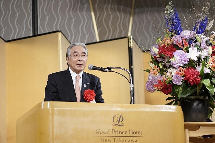 ご祝辞 日本ホテル協会 会長 志村 康洋様