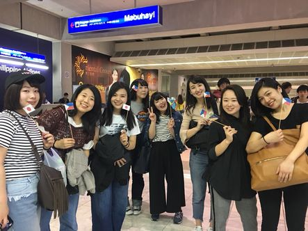 フィリピンの空港に到着しました!