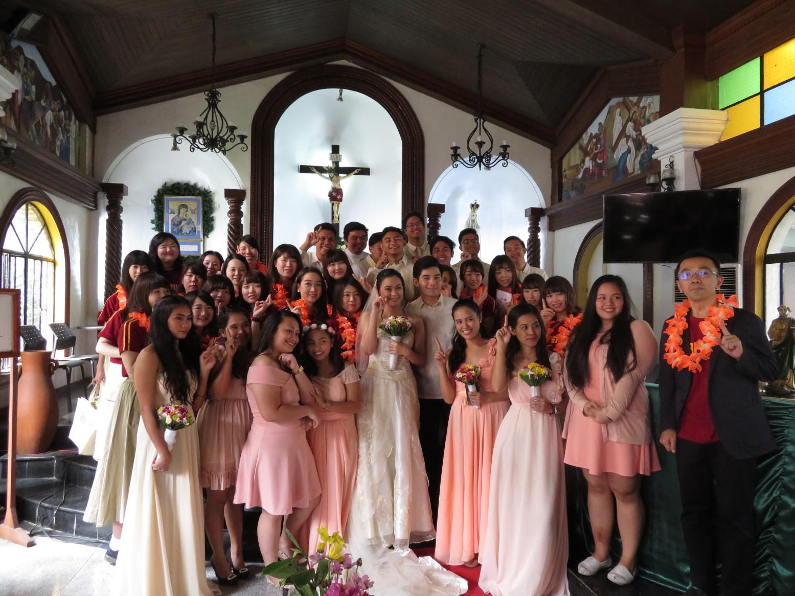 UPH模擬結婚式にて