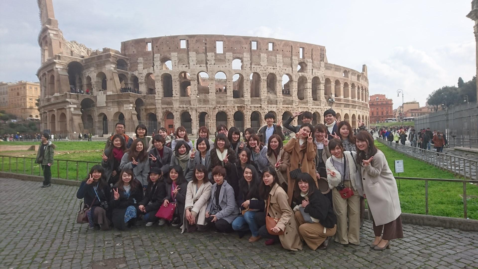 ローマ(コロッセオ)訪問
