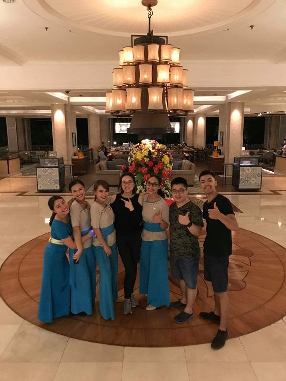 ホテルという職場-さまざまな国のお客さまと触れ合う場