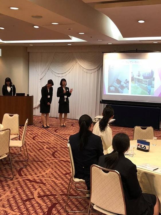 あなたの街で説明会(青森)在校生が東京生活の様子を詳しく伝えました