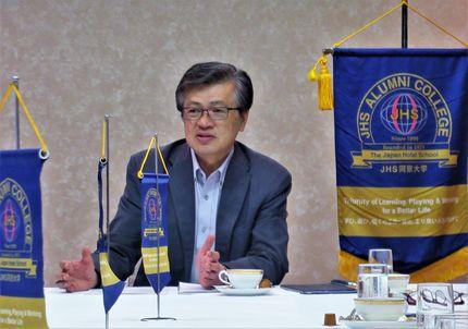 札幌国際大学 宮武教授より「国際観光と北海道」というテーマで講演いただきました