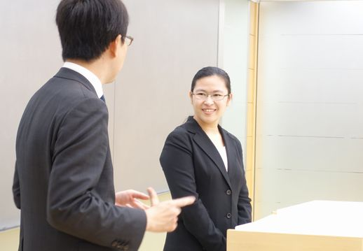OG講話は就職担当の先生のインタビュー形式で行ないました