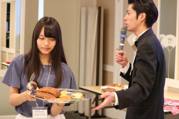 体験授業☆宴会サービス